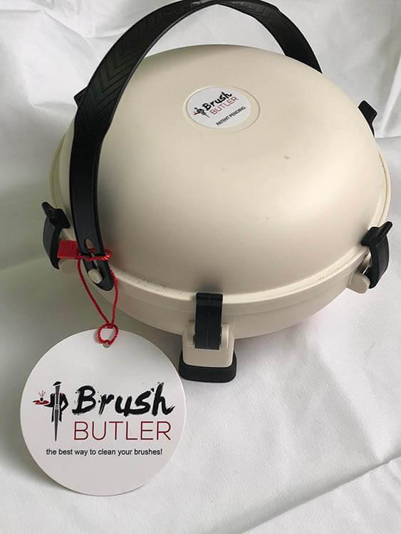 Brush Butler Painters Tips - Brush Cleaner for Painters and Other Painting Tips from The Brush Butler